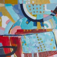 Recent Abstract Artwork by NZ Artist Kirsty Black
