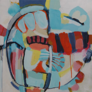 Carnival Camouflage by Kirsty Black, Academy Galleries, Wellington SOLO 44