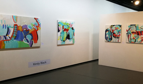 SOLO 44 paintings by Kirsty Black at the Academy Galleries, Wellington, NZ