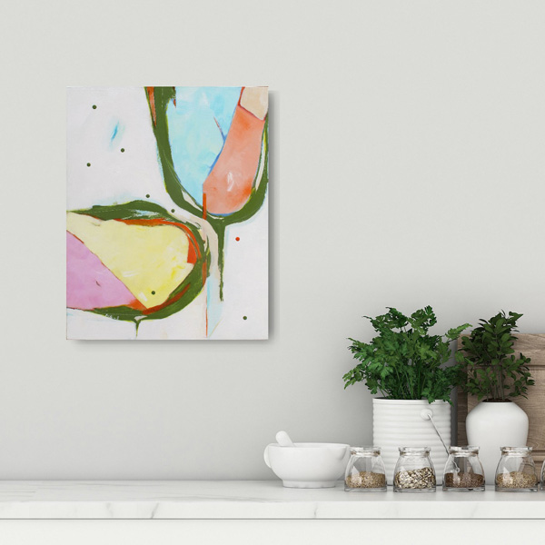 fun abstract art for sale NZ by Kirsty Black