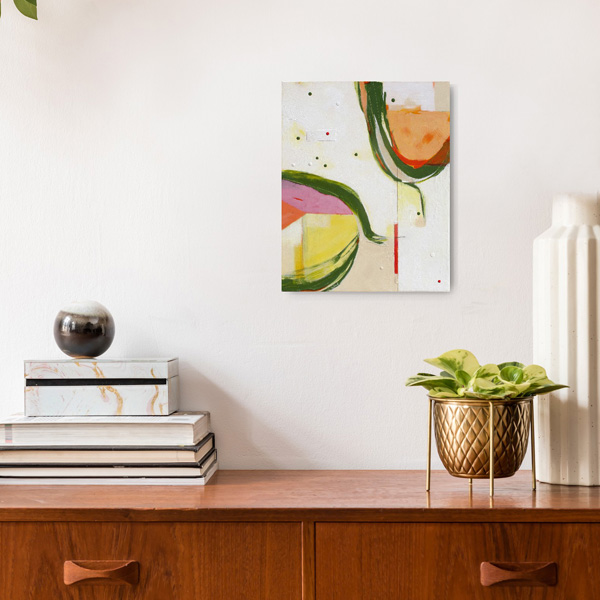 Fun nz abstract art for sale by Kirsty Black