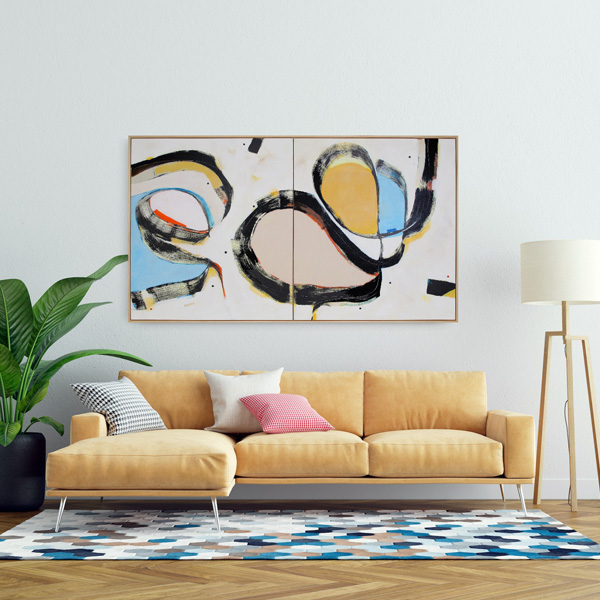 Statement painting for sale NZ by Kirsty Black