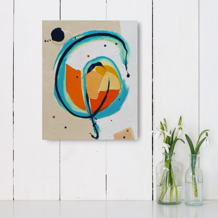 colourful abstract art for sale NZ